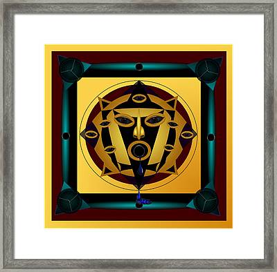 Ancient Eyes Framed Print