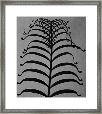 Ancient Filagree Framed Print