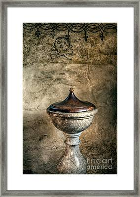 Ancient Font Framed Print by Adrian Evans