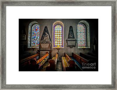 Ancient Glass Framed Print by Adrian Evans