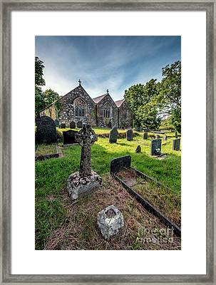Ancient Graveyard   Framed Print by Adrian Evans