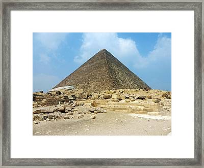 Framed Print featuring the photograph Ancient Great by Anthony Baatz