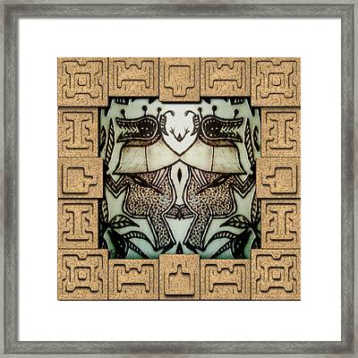 Ancient Guard  Framed Print by Museum Quality Prints -  Trademark Art Designs