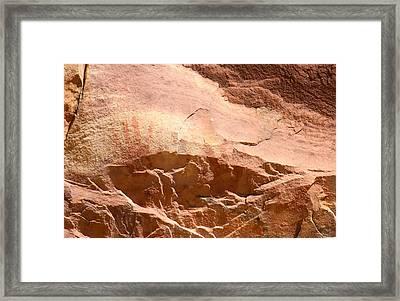 Ancient Hands Framed Print