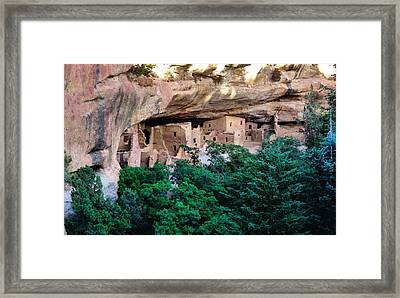 Ancient Houses Framed Print