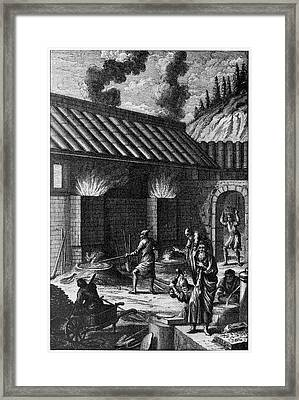 Ancient Ironworks Framed Print by Cci Archives