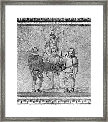 Ancient Italy Federation Framed Print by Granger