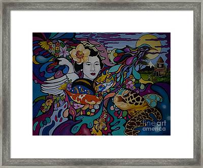 Ancient Japan Framed Print