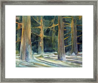 Ancient Light Framed Print