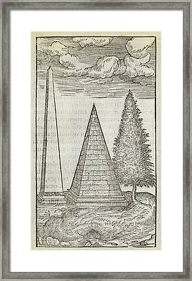 Ancient Monuments Framed Print