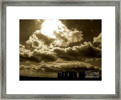 Framed Print featuring the photograph Ancient Mystery by Vicki Spindler