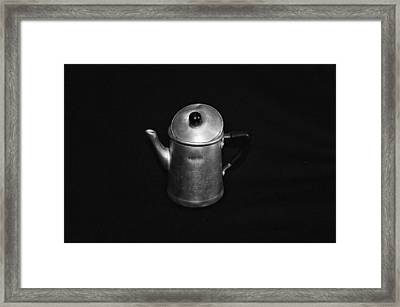 Ancient Neapolitan Coffee Machine Framed Print