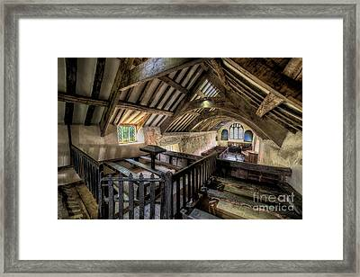 Ancient Pagan Chapel Framed Print by Adrian Evans