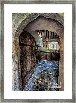 Ancient Pagan Church Framed Print