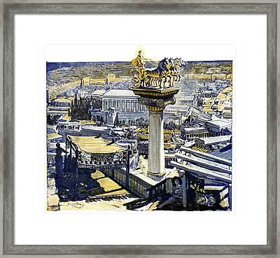 Ancient Rhodes Framed Print