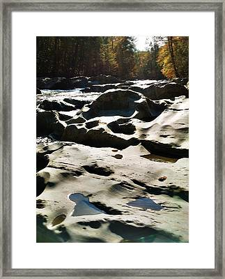 Ancient River Framed Print by Janice Spivey