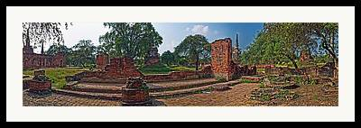 Ayuthaya Framed Prints