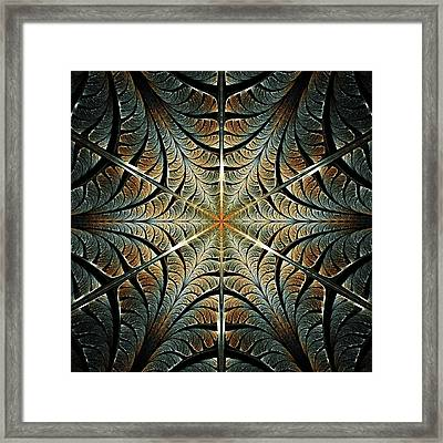 Ancient Shield Framed Print
