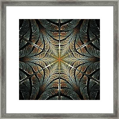 Ancient Shield Framed Print by Anastasiya Malakhova