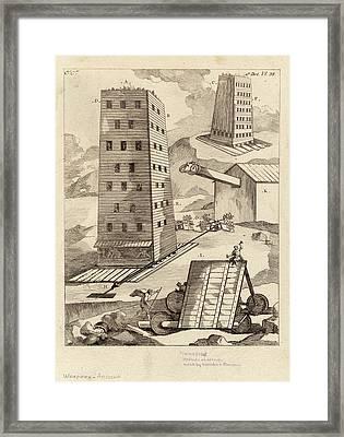 Ancient Siege Warfare Framed Print