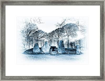 Ancient Smithy Framed Print