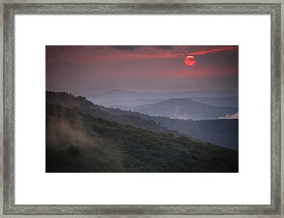 Ancient Smokies Framed Print by Serge Skiba