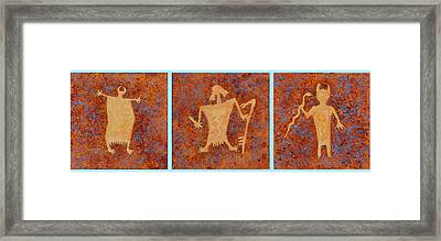 Ancient Spirits Framed Print by Jerry McElroy