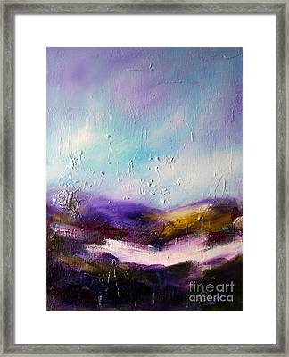 Ancient Spirits Of Connemara Framed Print by Lynda Cookson
