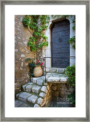 Ancient Stairs Framed Print
