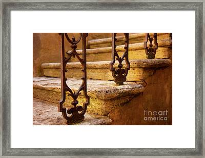 Ancient Steps Framed Print