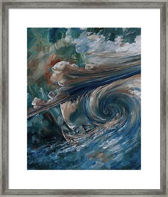 Ancient Storm Framed Print