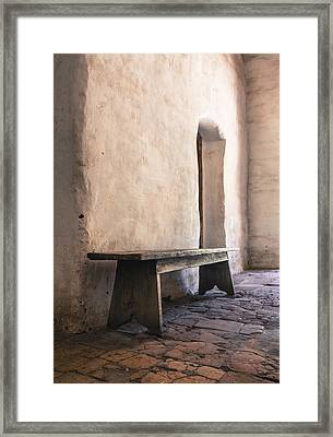 Ancient Textures Framed Print