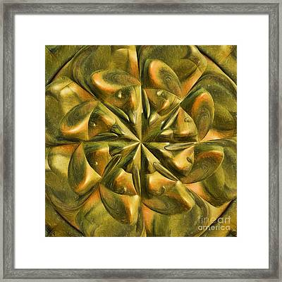 Ancient Times Framed Print by Deborah Benoit