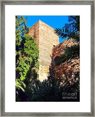 Ancient Tower Framed Print by Lutz Baar