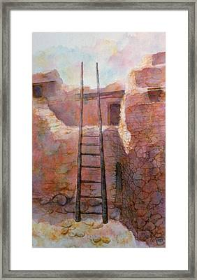 Ancient Walls Framed Print
