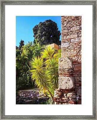 Ancient Walls Framed Print by Lutz Baar