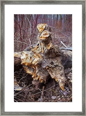 Ancient Warrior Framed Print by Omaste Witkowski