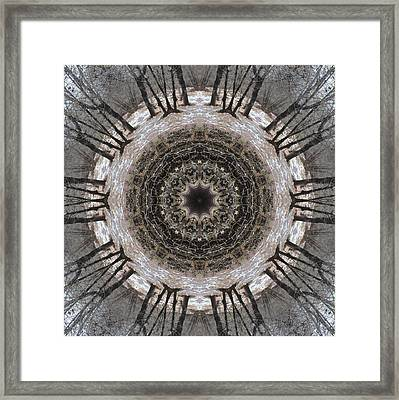 Framed Print featuring the digital art Ancient Warriors by Trina Stephenson