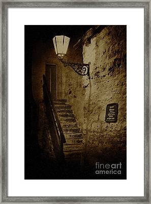 Ancient Ways Framed Print by Heiko Koehrer-Wagner