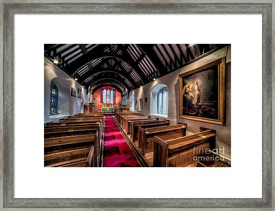 Ancient Welsh Church Framed Print by Adrian Evans