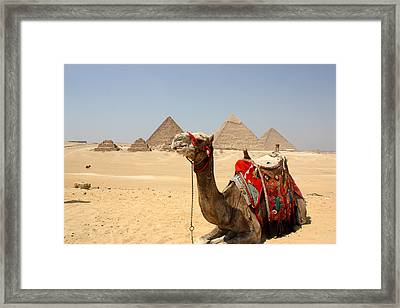 Ancient Wonders Framed Print
