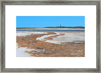 Anclote Key Island Lighthouse Framed Print