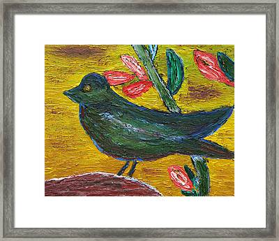And Again Spring Is Here Framed Print by Vadim Levin
