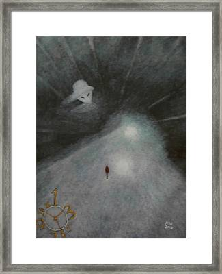 And Aliens Framed Print by Min Zou