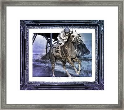 And Away We Go II Framed Print