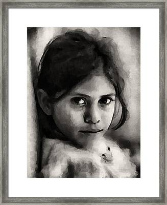 And How About Me Framed Print by Gun Legler
