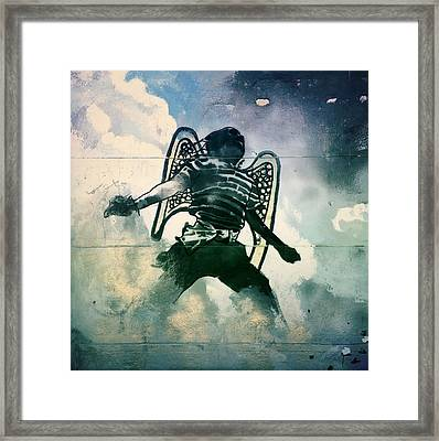 And I Heard As It Were The Noise Of Thunder.. Framed Print by A Rey
