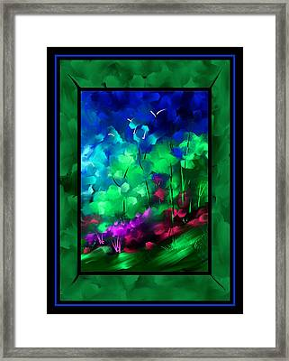 And I Think To Myself Framed Print