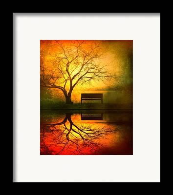Darkness Framed Prints