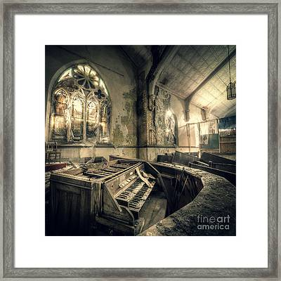 And In Their Absence The Music Ceased Framed Print